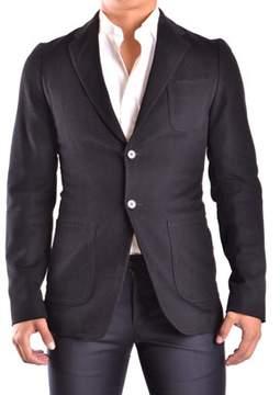CNC Costume National Men's Black Cotton Blazer.