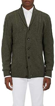 Barneys New York Men's Mixed-Stitch Cashmere Cardigan