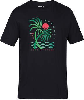 Hurley Men's Deco Beach Graphic T-Shirt
