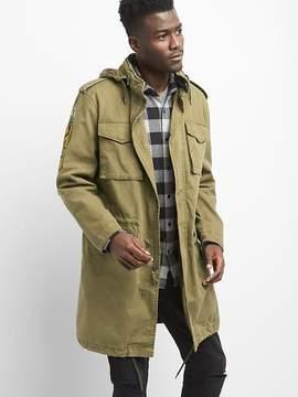 Gap Limited Edition canvas patch fatigue jacket