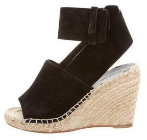 Celine Espadrille Wedge Sandals