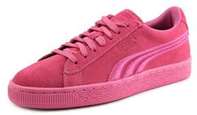 Puma Suede Classic Badge Jr Youth US 5 Pink Sneakers