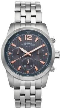 DAY Birger et Mikkelsen Armitron Men's Stainless Steel Watch - 20/4991GYSV
