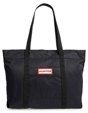 Hunter Nylon Tote - Black