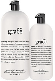 Philosophy Pure Grace Mega-Size Shower Gel & Body Lotion Duo