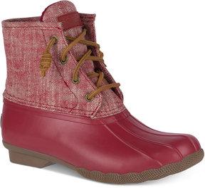 Sperry Women's Saltwater Duck Booties Women's Shoes