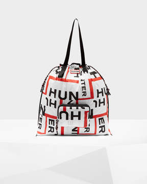 Hunter Exploded Logo Packable Tote