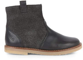 Pom D'Api Bi-material leather boots - Patex