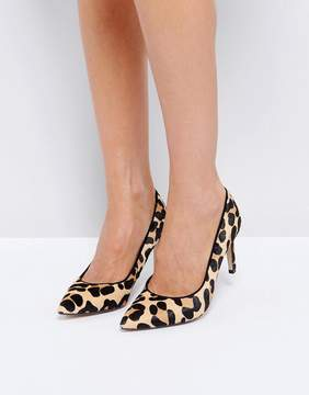 Dune London Leopard Print Pointed Heeled Shoes