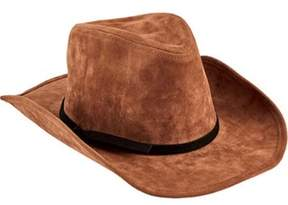 San Diego Hat Company Unisex Children's Faux Suede Cowboy With Trim Wfk4189.