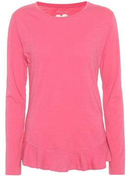 81 Hours 81hours Nella long-sleeved cotton top