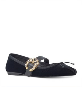 Nine West Women's Xandi Mary Jane Flat