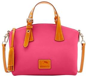 Dooney & Bourke Patterson Leather Trina Satchel - HOT PINK - STYLE