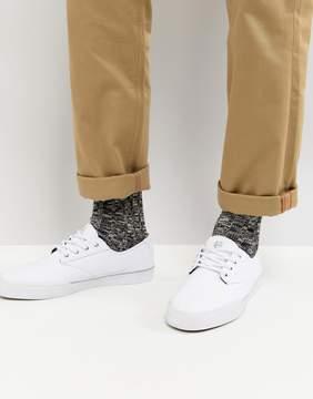 Etnies Jameson Vulc LS Sneaker In White