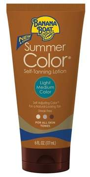Banana Boat Summer Color Self-Tanning Lotion - Light/Medium - 6oz