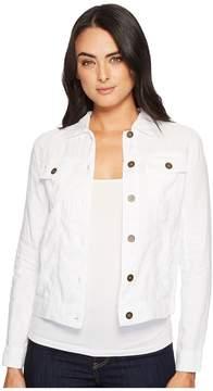 Michael Stars Woven Linen Jean Jacket Women's Coat