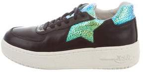 Ash Low-Top Platform Sneakers