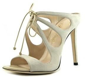 Alejandro Ingelmo 4002 Women Open Toe Leather Ivory Sandals.
