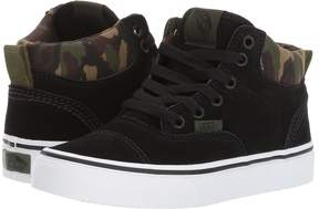 Vans Kids Era-Hi Classic Camo/Black) Boys Shoes