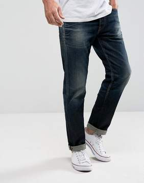 Jack and Jones Intelligence Jeans In Tapered Fit Italian Denim