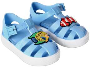 Dolce & Gabbana Fish Patches Rubber Sandals