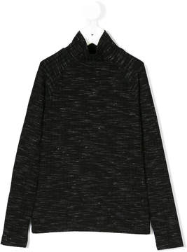 DKNY funnel neck top