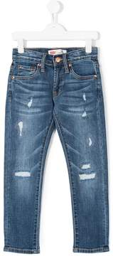 Levi's Kids ripped slim jeans