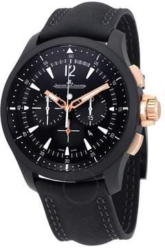 Jaeger-LeCoultre Jaeger Lecoultre Master Compressor Chronograph Black Dial Men's Watch