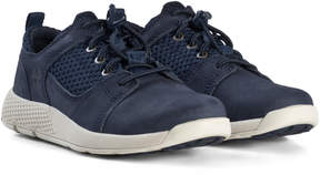 Timberland Kids Navy Youth Flyroam Oxford Trainers