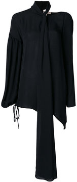 Emilio Pucci draped fitted blouse