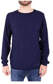 Trussardi Men's Blue Cotton Sweater.