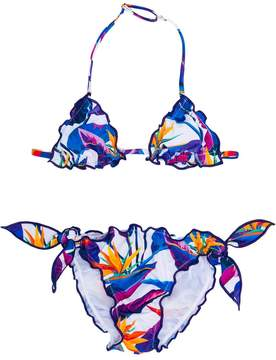 MC2 Saint Barth Kids floral print bikini