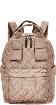 Marc Jacobs Nylon Knot Large Backpack - FRENCH GREY - STYLE