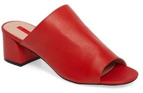 Topshop Women's Notorious Metallic Slide Sandal