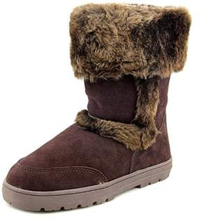 Style&Co. Style & Co Witty Women Round Toe Suede Brown Winter Boot.