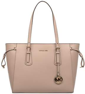 Michael Kors Soft Pink Voyager Saffiano Leather Tote - PINK - STYLE