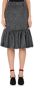 Prada Women's Fuzzy Alpaca-Silk Pencil Skirt