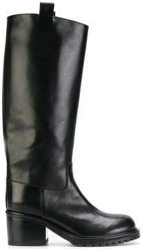 A.F.Vandevorst heeled wellington boots