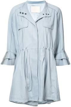 Drome cropped sleeved jacket