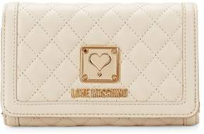 Love Moschino Women's Quilted Continental Wallet