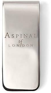 Aspinal of London Signature Sterling Silver Money Clip