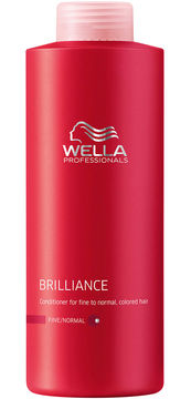 Wella Brilliance Conditioner - Fine to Normal - 33.8 oz.