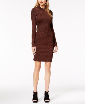 Bar III Metallic Sweater Dress, Created for Macy's