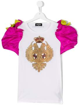 DSQUARED2 puff sleeve T-shirt