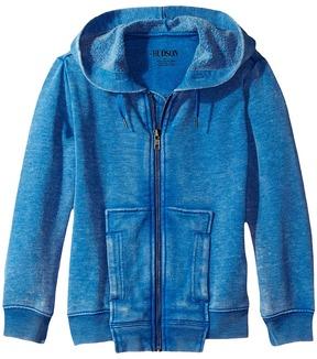 Hudson Burnout Zip Hoodie Boy's Sweatshirt