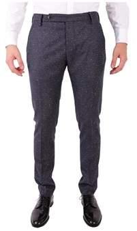 Entre Amis Men's Grey Wool Pants.