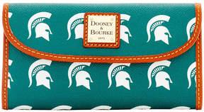 Dooney & Bourke Michigan State Spartans Clutch - GREEN - STYLE