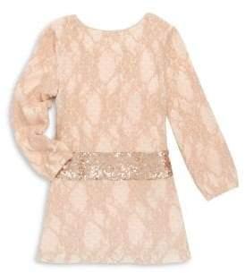 Billieblush Toddler's, Little Girl's& Girl's Knit Sequined Dress