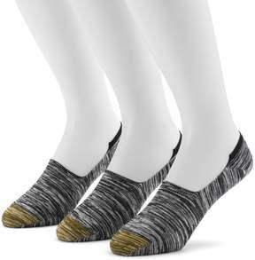 Gold Toe GOLDTOE Men's GOLDTOE 3-pack Slubbed Oxford Liner Socks