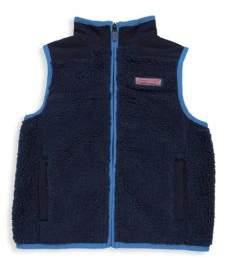 Vineyard Vines Toddler's, Little Boy's& Boy's Faux Fur Vest
